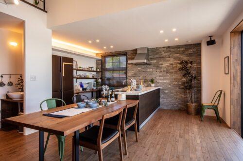 【松本市新築】ショールームのキッチンを体感、お子様も楽しい打合せ時間♪