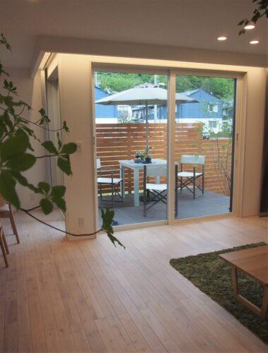 【ブログ】松本市・新築モデルハウス『アウトドアリビング』
