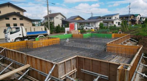 【現場レポート】基礎工事 松本市新築
