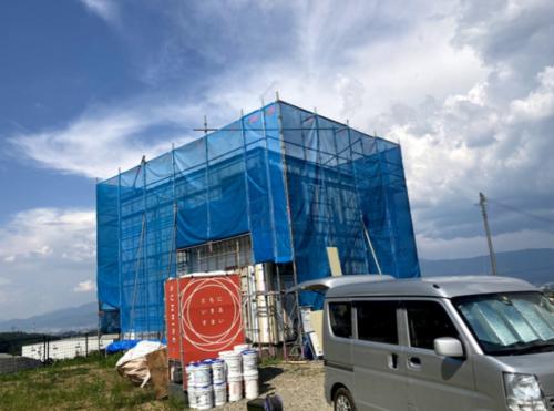 【現場レポート】朝日村 新築工事 仕上げ工事へ! を更新しました
