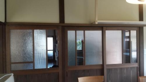 【ブログ】< 施工事例 >木製建具でイメージアップ♪