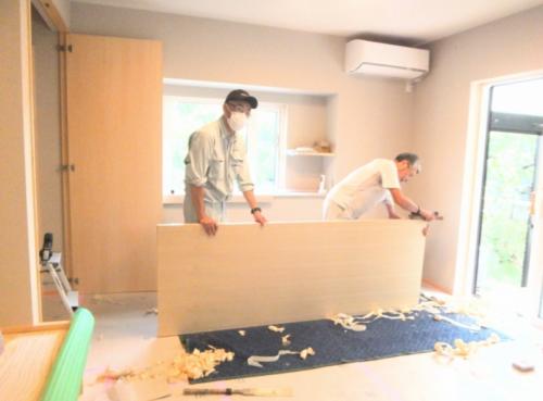 【現場レポート】リフォーム F様邸 建具(たてぐ)が入りました!